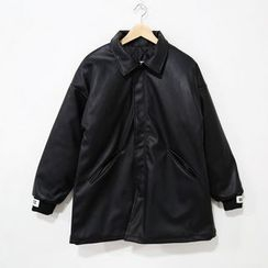 Mr. Cai - Faux-Leather Jacket