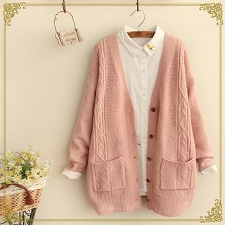 Fairyland - Cable Knit Cardigan