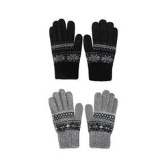 URBAN LADY - Nordic-Pattern Gloves