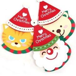 OH.LEELY - Bear Christmas Card