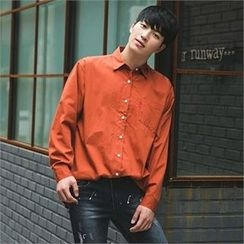 STYLEMAN - Button-Down Colored Shirt