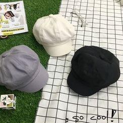 SOCOOL - 拼接派報童帽子
