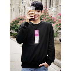 JOGUNSHOP - Long-Sleeve Printed T-Shirt