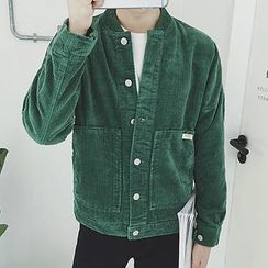 Weroni - Buttoned Corduroy Jacket