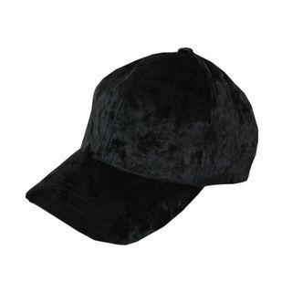 DABAGIRL - Velvet Baseball Cap