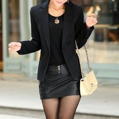 Swish - 单扣西装外套