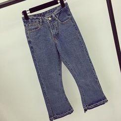 Honeydew - 散邊靴型牛仔褲