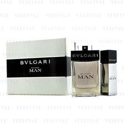 Bvlgari - Man Coffret: Eau De Toilette Spray 100ml/3.4oz + Eau De Toilette Travel Spray 15ml/0.5oz