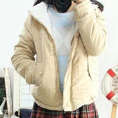 Miss Honey - 连帽夹层夹克