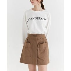 Someday, if - Lettering Cotton Sweatshirt