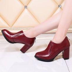 Sidewalk - 粗跟及踝靴