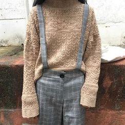 Anlay - Plaid Jumper Pants