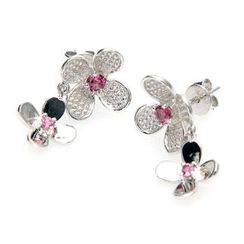 Bellini - Tourmaline Plum Earrings
