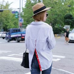 Ranche - Button Back Striped Shirt