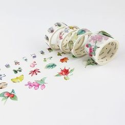 Homey House - Set of 5: Printed Masking Tape