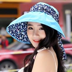 Salomi - 印花遮陽帽