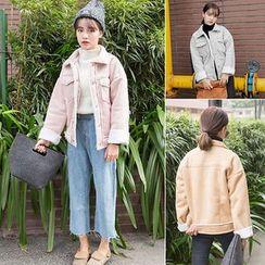 Clair Fashion - 韩系机车宽松短外套