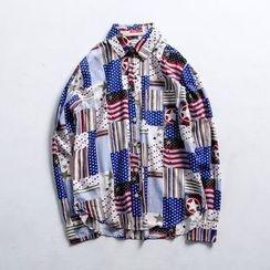 除一 - 圖案襯衫