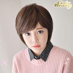 Clair Beauty - Short Full Wigs -  Straight