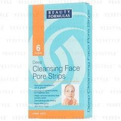 Beauty Formulas - Deep Cleansing Face Pore Strips