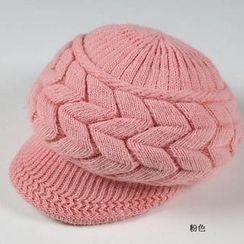 JVL - Fleece-Lined Knit Casquette