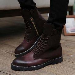 Trendsetter - Skull Studded Boots