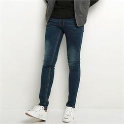 Smallman - Washed Skinny Jeans