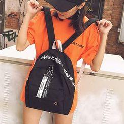 Youme - 字母帆布背包