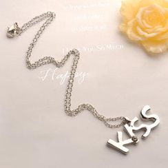 Fit-to-Kill - KISS Letter Necklace