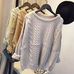 Polaris - 麻花針織毛衣