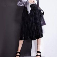 Halona - Pleated Skirt