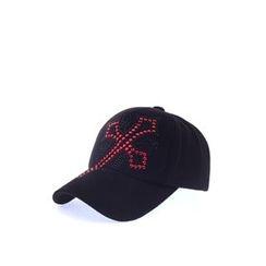 Ohkkage - Rhinestone Baseball Cap