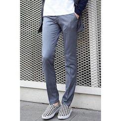 SCOU - Slim-Fit Dress Pants