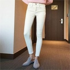 QNIGIRLS - Brushed Fleece Lined Skinny Pants