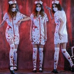 Cosgirl - Halloween Nurse Party Costume