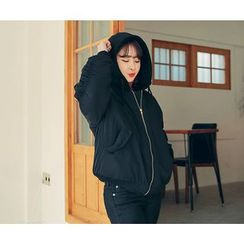 HOTPING - Zip-Up Padded Jacket