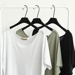 NANING9 - Scoop-Neck T-Shirt