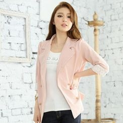 Tokyo Fashion - Lace-Cuff Blazer