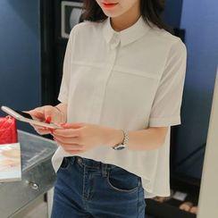 YUMU - Short-Sleeve Blouse
