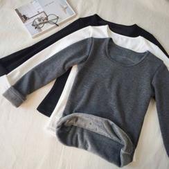 Moon City - Fleece Lined Long-Sleeve T-Shirt