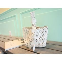 MARSHMALLOW - Perforated Bucket Bag