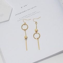 Wind Valley - Non-Matching Drop Earrings