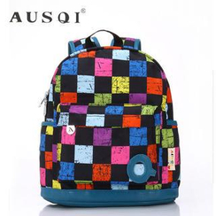 Ausqi - Kids Plaid Backpack