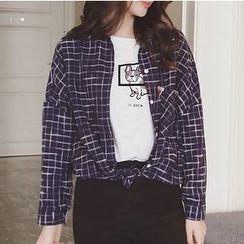 微米家 - 格子衬衫