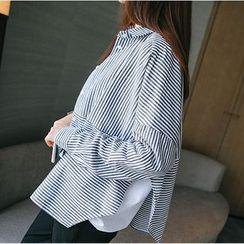 微米家 - 细条纹衬衫