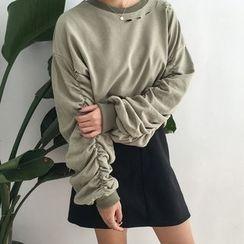 Dute - Distressed Pullover