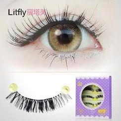 Litfly - Eyelash#125 (5 pairs)