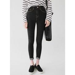 Vintage Vender - Washed Skinny Jeans