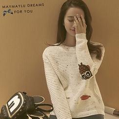 Maymaylu Dreams - Pattern Knit Top