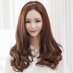 SEVENQ - Hair Extension - Wavy